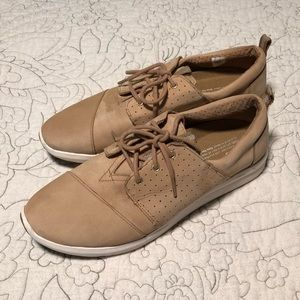 TOMS suede lace up sneakers